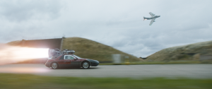 """One of the tuner cars in """"F9"""" has an actual rocket engine attached to its roof."""