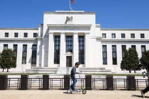 The Federal Reserve now forecasts at least two rate hikes by the end of 2023