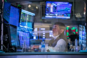 Stock futures are flat as investors await Federal Reserve update