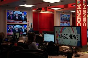 """""""We are standing up for each other and our work — because this is who we are,"""" the MSNBC bargaining unit wrote in its message to management."""
