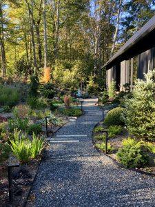 Garden path to the front door