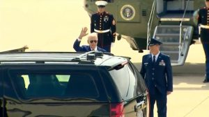 Feeble Biden Spends Another Weekend at Delaware Basement Amid Calls For Him to Take Cognitive Test