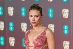 Scarlett Johansson attends the EE British Academy Film Awards ceremony at Royal Albert Hall on February 02, 2020 in London, England.  (Photo by WIktor Szymanowicz / NurPhoto via Getty Images)