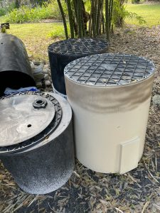 Sump pump barrels