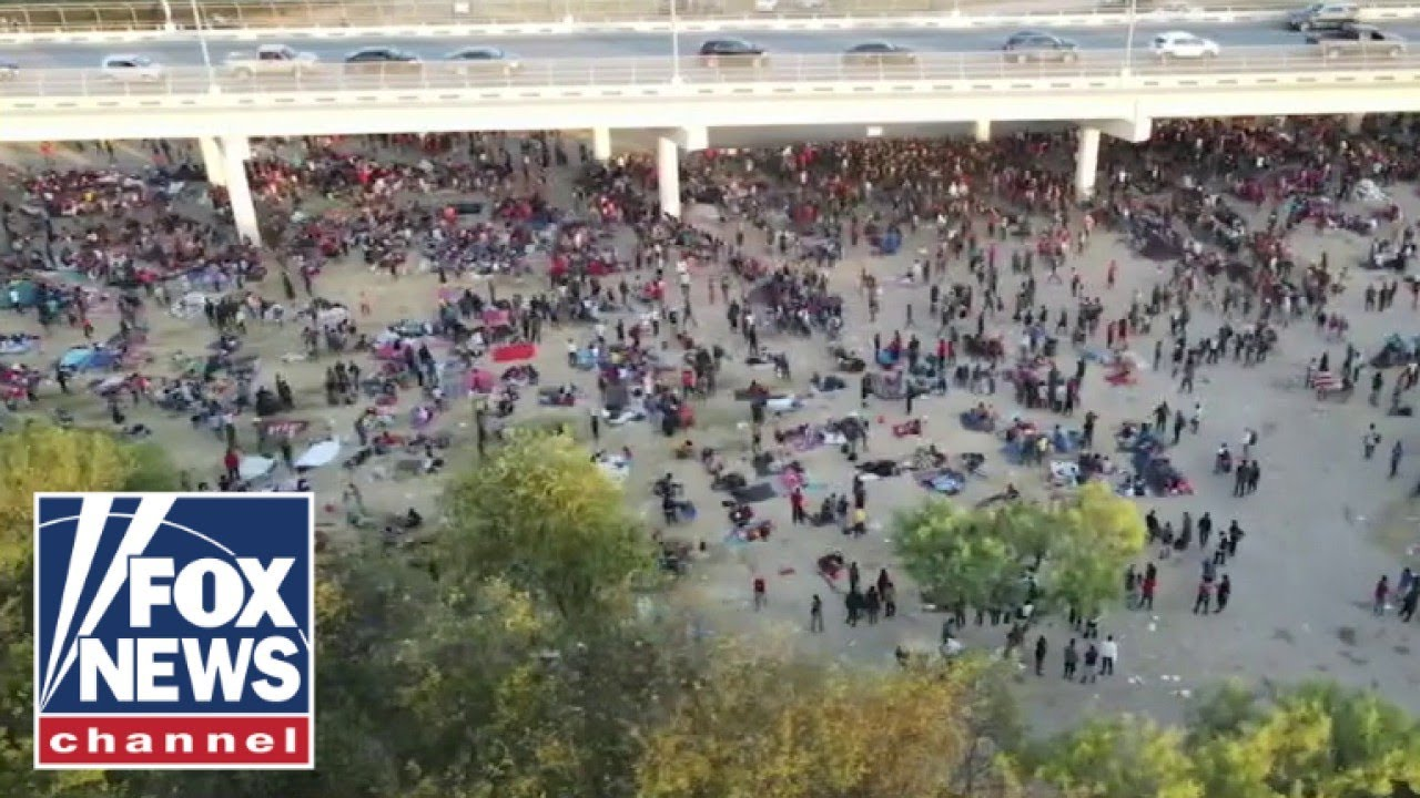 the-five-rips-biden-as-thousands-of-migrants-shelter-under-texas-bridge